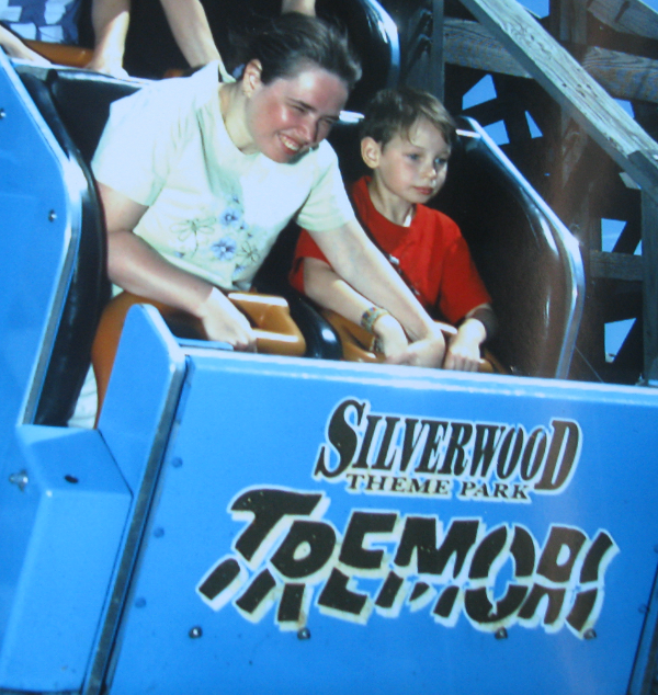 Tremors Roller Coaster Silverwood