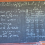 School House Blackboard