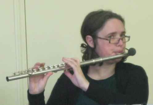 Danielle on the Flute