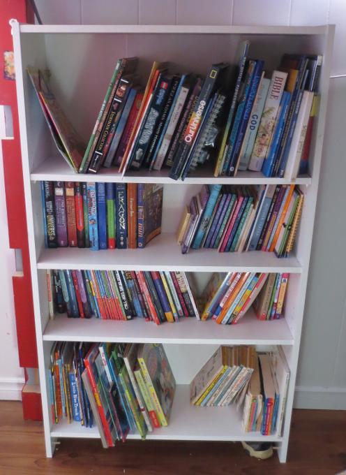 Kids' Bookshelf After