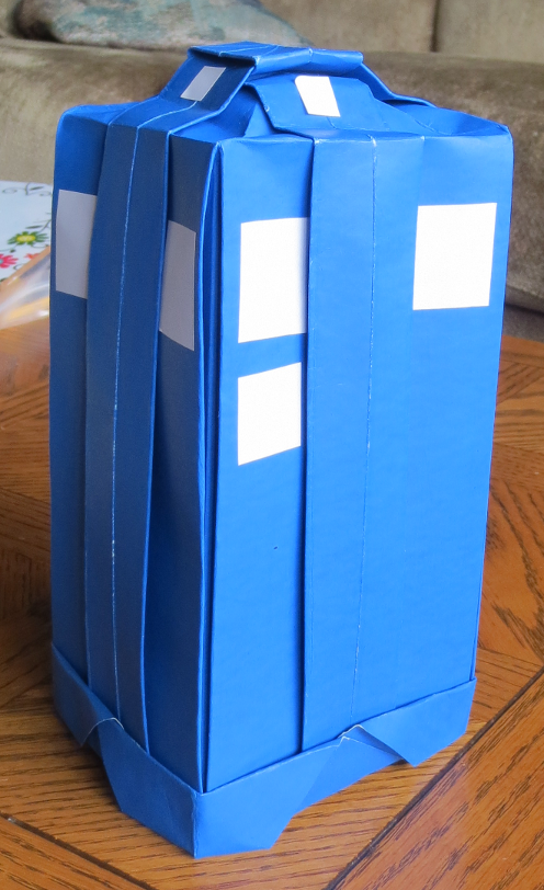 origami tardis tales of a house husband