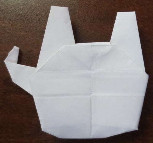 Origami Millennium Falcon | Tales of a House Husband - photo#1