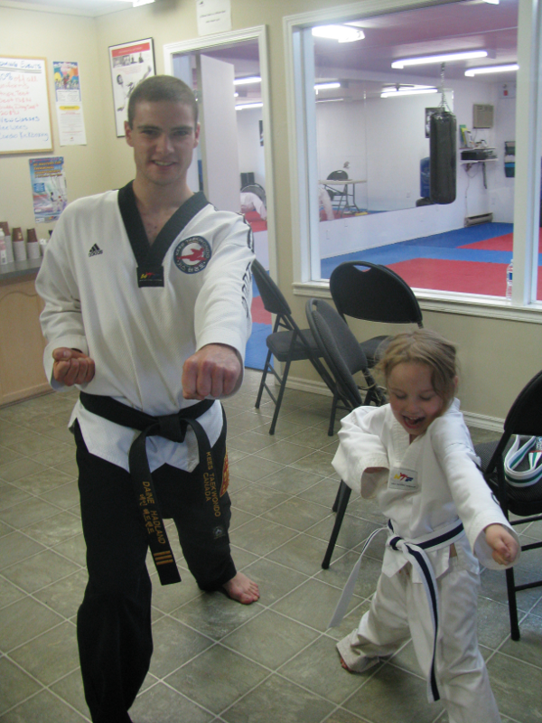 Tae Kwon Do Belt Test