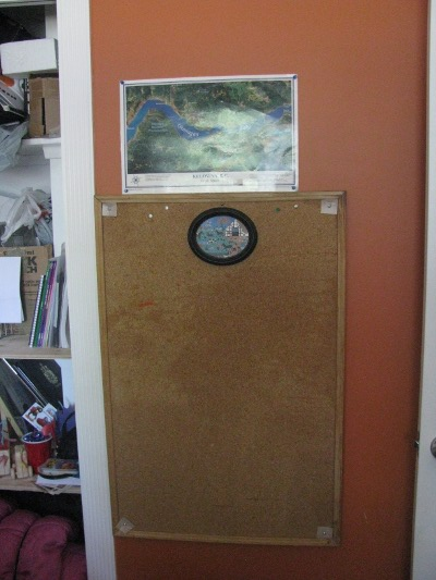 Homeschool Cork Board