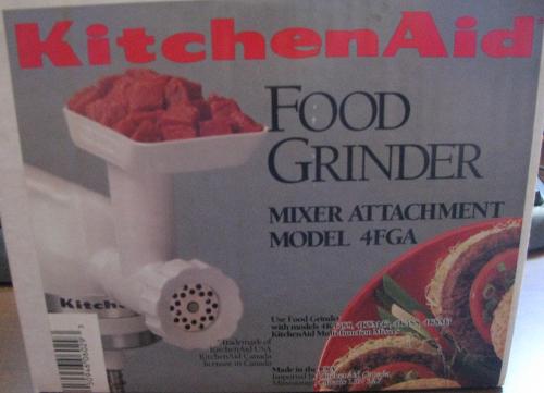 Kitchen Aid Grinder
