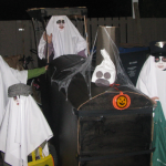Halloween Ghost Train Stroller Costume