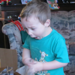 Christmas Morning Excitement