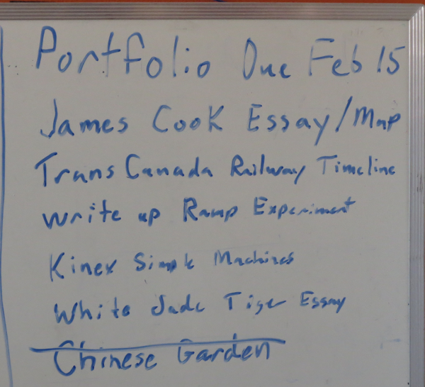 Portfolio To Do List  Week 2