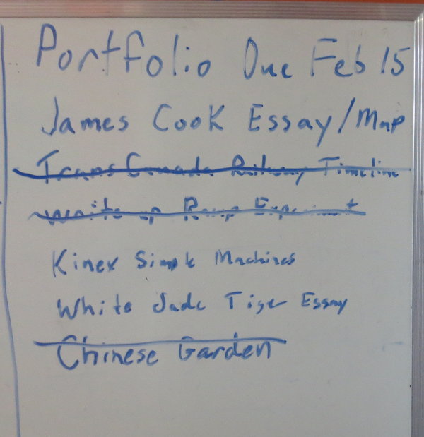 Portfolio To Do List Week 3