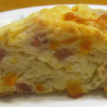 Ham and Cheese Biscuit