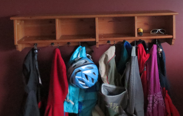 Cleaned Coat Rack