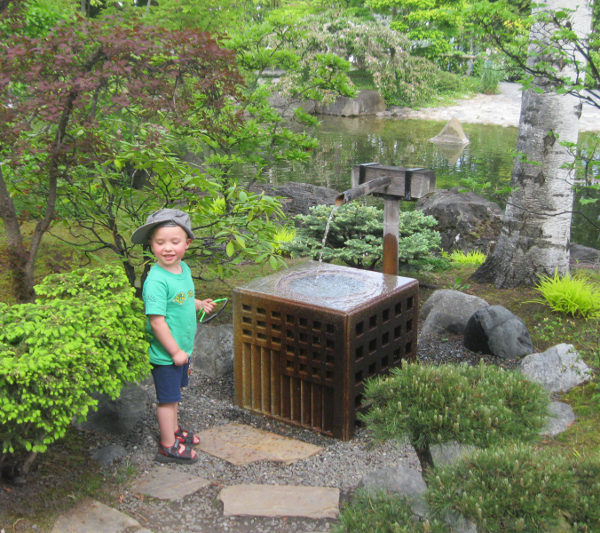 Japanese Graden Water Feature