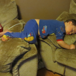 Crazy Kid Sleeping Positions
