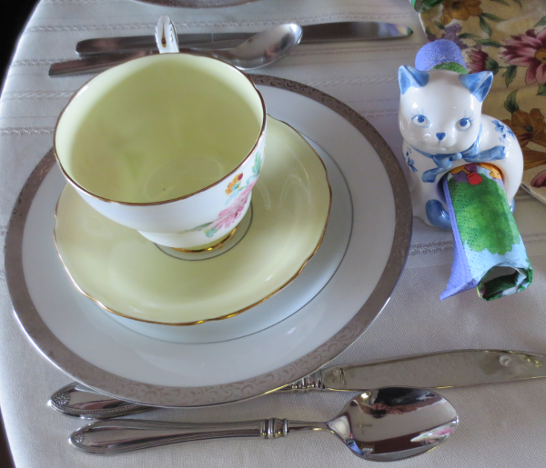 Mothers DAy Tea Place Setting