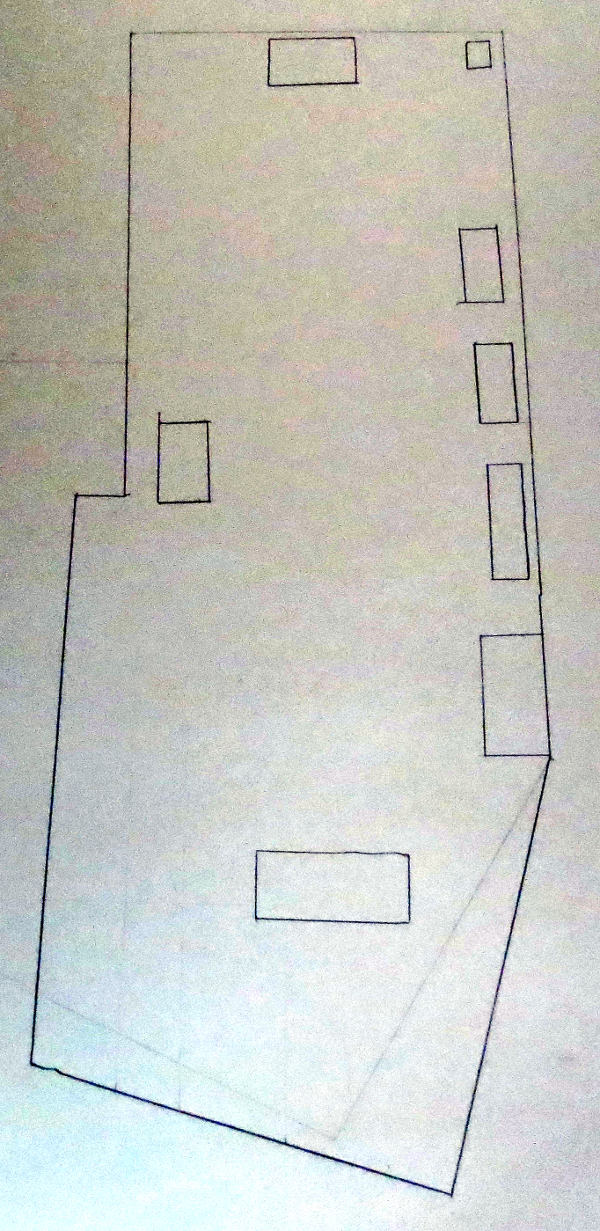 Scale Map of Fort Lanley