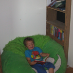 Reading Nook Already in Use