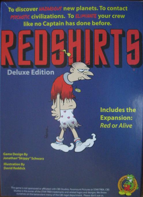 Redshirts Game
