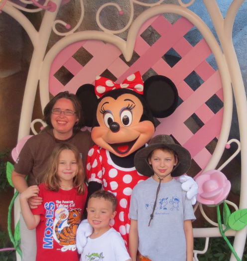 Minnie Mouse and Family