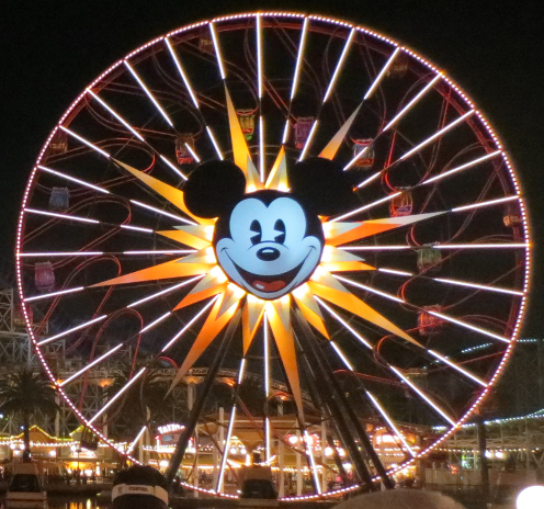 Giant Mickey Mouse Ferris Wheel
