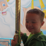 Ian on King Triton's Carousel