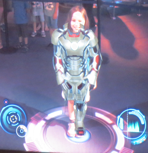 Margaret Iron Man Suit Up