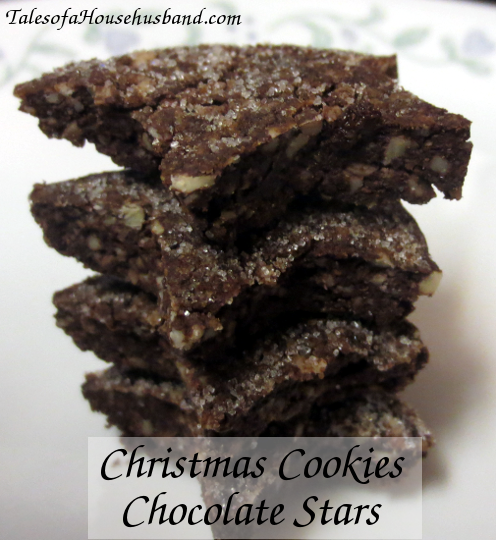 Chocolate Star Christmas Cookies (Gluten Free)
