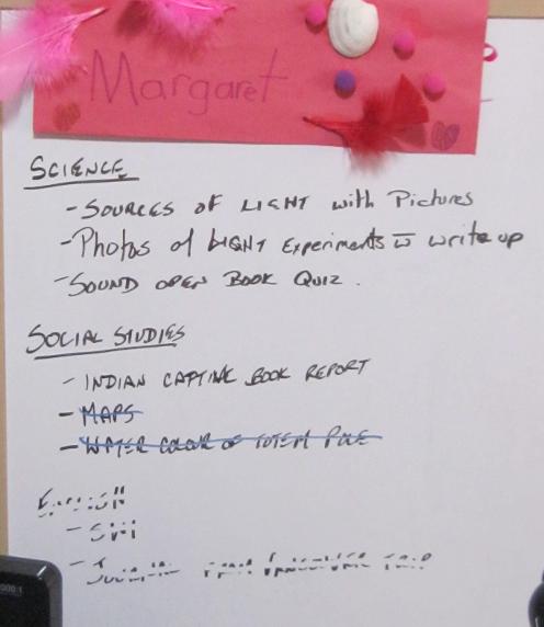 Margaret Porfolio List