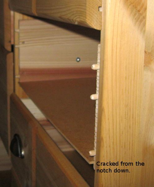 Old Broken Dresser