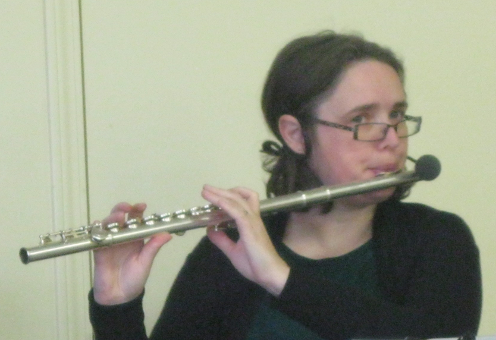 Danielle on the Flute