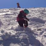 Margaret Skiing