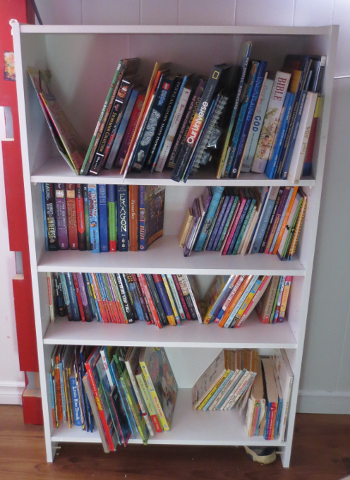 Kids' Bookshelf After
