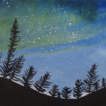 Margaret Night Sky Painting