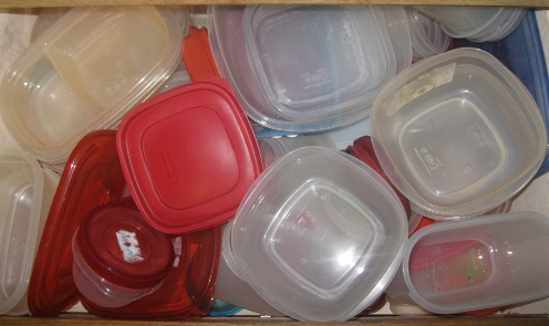 Container Drawer Before