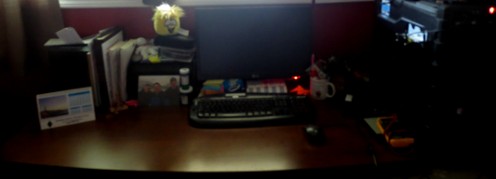 My Desk After
