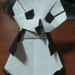 Origami Panda Bear