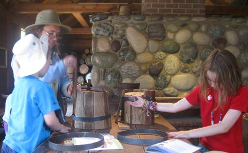 Fort Langley Barrel Making