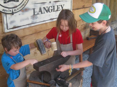 Fort Langley Kids Metalworking