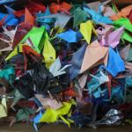 Box of Origami Cranes