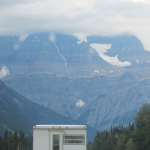 Mount Robson Hidden in the clouds
