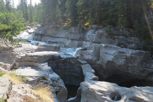 Top of Maligne Canyon