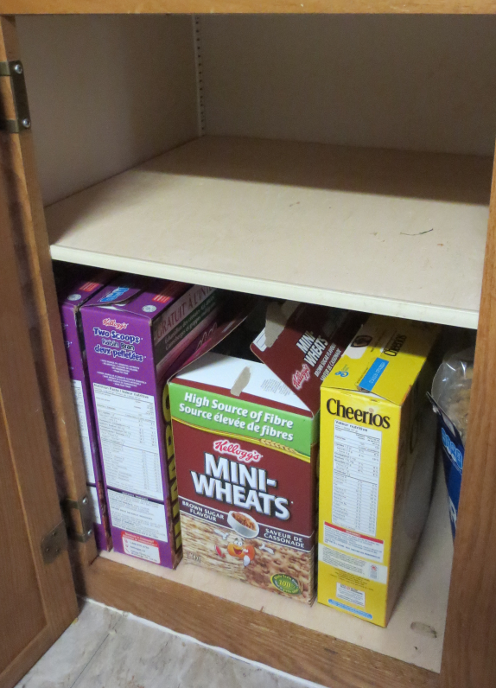 Cereal Cupboard After