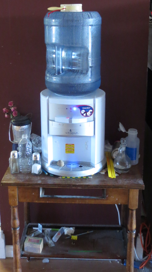 Water Cooler Before