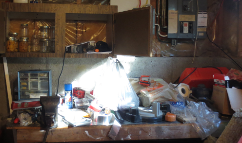 Work Bench Before