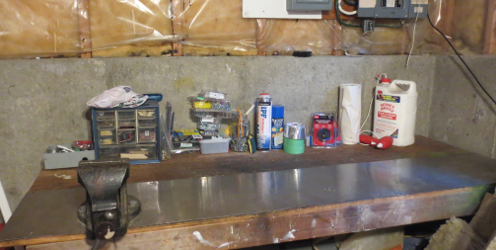 Work Bench Getting There