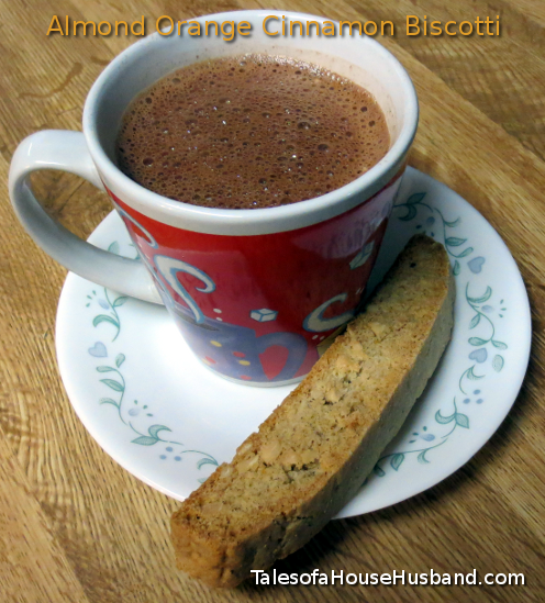 Almond Orange Cinnamon Biscotti