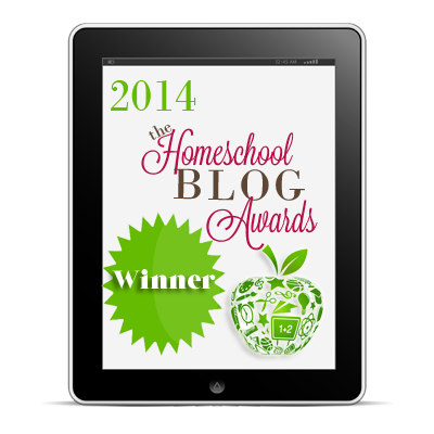 Homeschool Blog Awards: Best Homeschooling Dad Blog Winner
