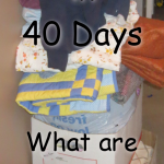 40 Bags in 40 days Lent