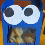 Cookie Monster Cookie box