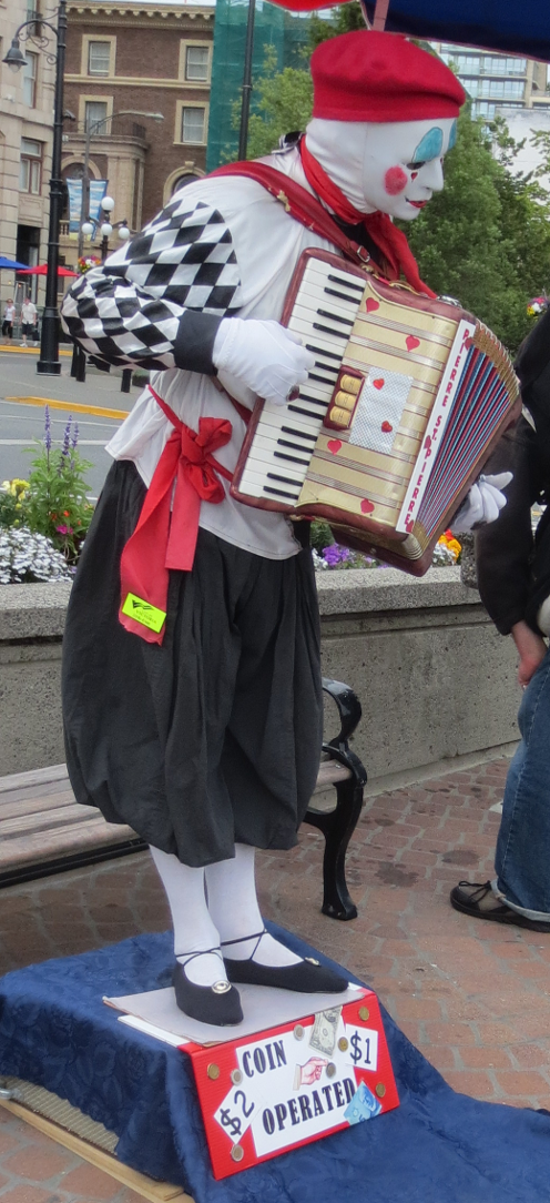 Coin Operated Busker