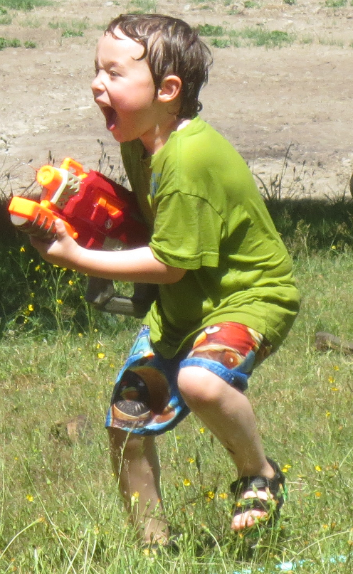 Ian Water Fight
